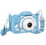 Детский цифровой фотоаппарат GSMIN Fun Camera Kitty со встроенной памятью и играми., фото 3