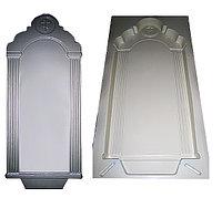 Форма для бетонного памятника №3 «С колоннами» (1435x560x70), АБС 3 мм