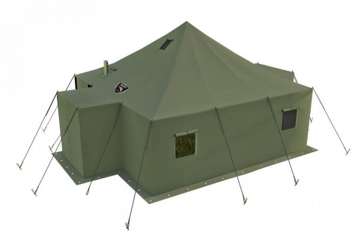 Брезентовая палатка, утепленный 5*5