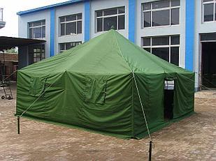 Брезентовая палатка с тамбуром