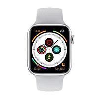 Умные часы Watch 6, smart-watch для мужчин женщин, 44мм bluetooth звонки whatsapp 2.5D дисплей + ремешок Apple