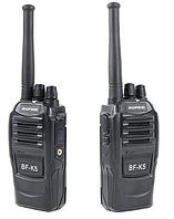 Рации Baofeng BF-K5 Радиостанции портативные Рация для Персонала, Охоты и Рыбалки, Стройки, Охраны