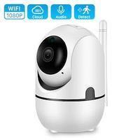 IP WiFi Камера видеонаблюдения Full HD 1080P, беспроводная камера, видео няня, сигнализация, ночная камера