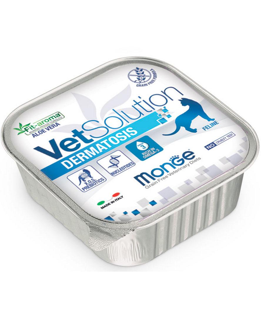 Monge VetSolution Dermatosis Cat Влажный корм для кошек