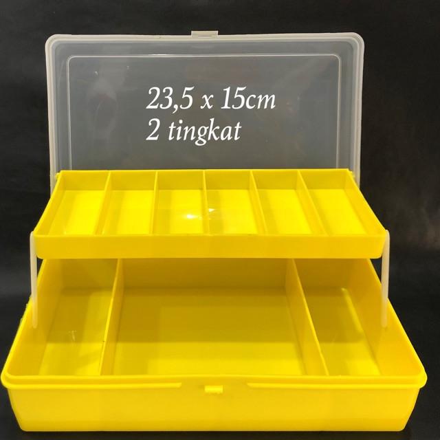 Ящик малый с полкой 23,5см*15см