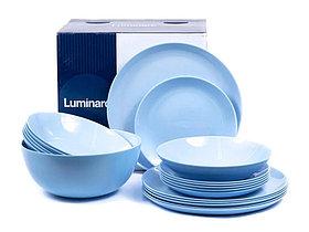 Столовый сервиз Luminarc Diwali Light Blue 19 предметов на 6 персон