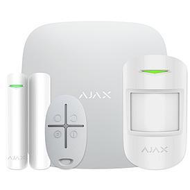 Комплект системы безопасности AJAX Starter Kit Plus (белый)
