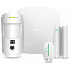 Комплект системы безопасности Ajax StarterKit Cam