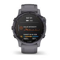 Смарт-часы Garmin Fenix 6S Pro Solar аметист/темно-серый