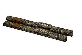 Тубус двойной для спиннингов пиксель Ø7, 5см 1,35м