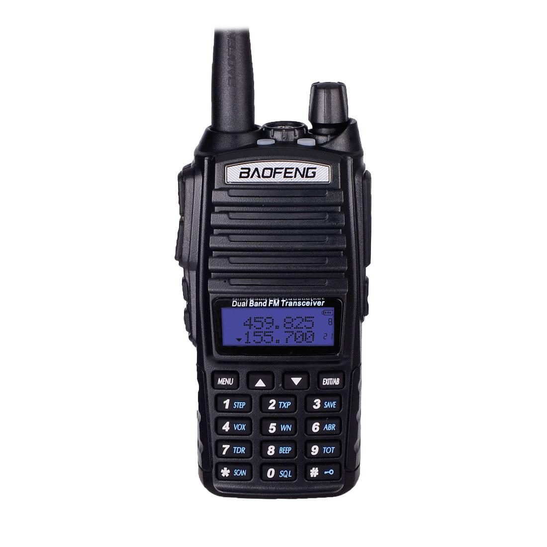 Рации Baofeng UV-82  Радиостанции портативные Рация для Персонала, Охоты и Рыбалки, Стройки, Охраны