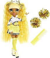 Кукла Реинбоу Хай золотая Rainbow High Sunny Madison Чирлидер, фото 1