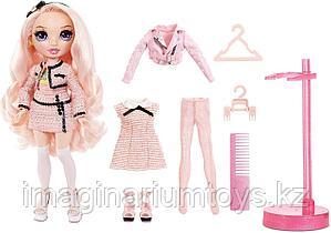 Кукла Rainbow High Fashion Белла Паркер розовая