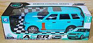 SH558 Racer Ренджровер на р/у голубой 4функции 35*12см, фото 2