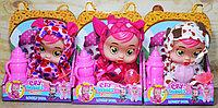 879 Cry babie Кукла пупс с бутылочкой в пижамке., фото 1