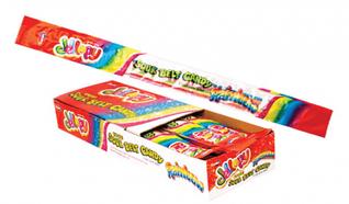 Мармеладные пластинки Jellopy sourbelt MIX RAINBOW 10 гр (48 шт в упаковке)