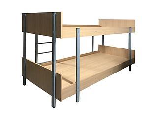 Кровать двухъярусная для ХОСТЕЛ