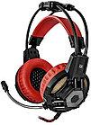 Наушники-гарнитура игровые Defender Lester красный + черный, кабель 2,2 м
