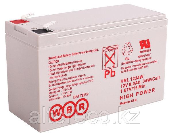 Аккумулятор WBR HRL 1234W (12В, 9Ач), фото 2