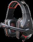 Наушники-гарнитура игровые Defender Excidium красный + черный, кабель 2,2 м