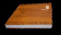 Сэндвич панель 20 мм экструдированный 0,6 мм ЗОЛОТОЙ ДУБ, ТЕМНЫЙ ДУБ, ОРЕХ