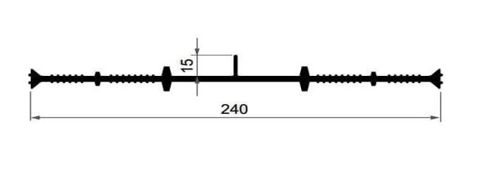 Гидрошпонка ПВХ ТЕХНОНИКОЛЬ IC-240-6