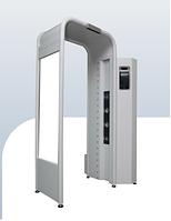 Дезинфицирующая установка с функцией измерения температуры и распознавания лиц
