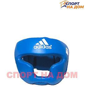 Боксёрский шлем полный Adidas AIBA размер M (кожа)