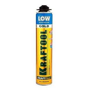 (41191) Пена KRAFTOOL Goldkraft GOLD PRO LOW профессиональная полиуретановая, для монтажного пистоле