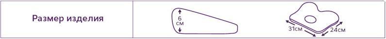 Ортопедическая подушка для младенцев Т.110 (ТОП-110) - фото 2