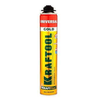(41192) Пена KRAFTOOL Goldkraft GOLD PRO профессиональная полиуретановая, для монтажного пистолета,