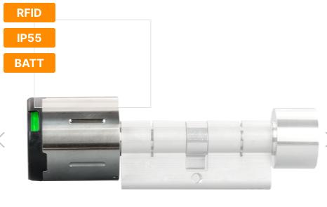 Дверной замок-DC BASIC радио-ручка (MIFARE® DESFire®) для внутренних дверей (IP55)