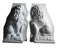 Формы для большого льва (1000x550x410), АБС 4 мм