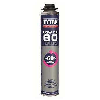 TYTAN Professional пена ПРОФ Low Ex 60 О2 (750 мл), желтый