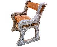 Форма для изготовления скамейки со спинкой (810х510х55)