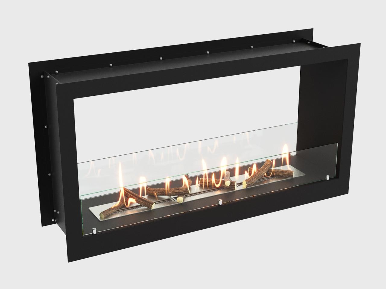Встроенный биокамин Lux Fire Сквозной 1210 М