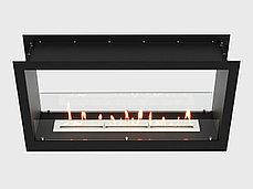 Встроенный биокамин Lux Fire Сквозной 1210 М, фото 2