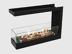 Встроенный биокамин Lux Fire Торцевой 690 S