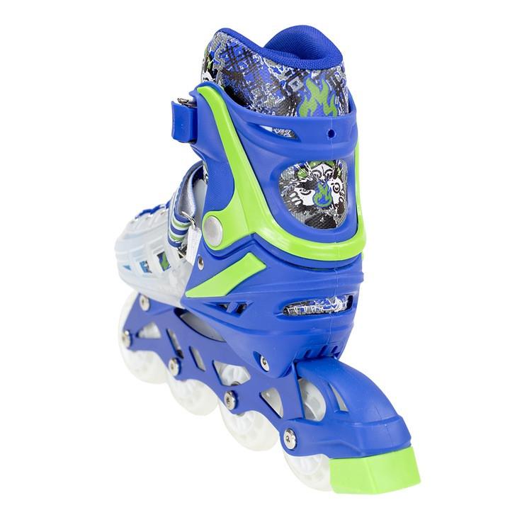 Роликовые коньки MIQI SKY набор (синие-размер 39-43) L - фото 4