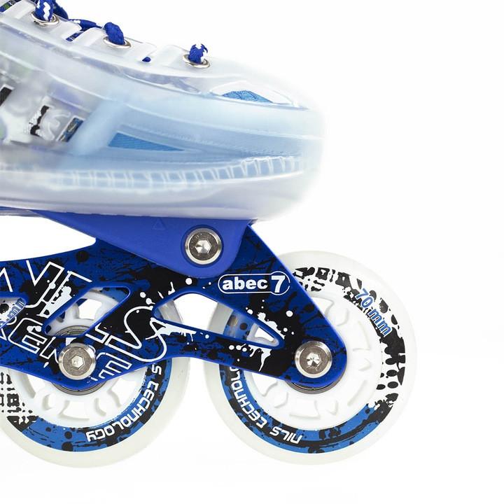 Роликовые коньки MIQI SKY набор (синие-размер 39-43) L - фото 6