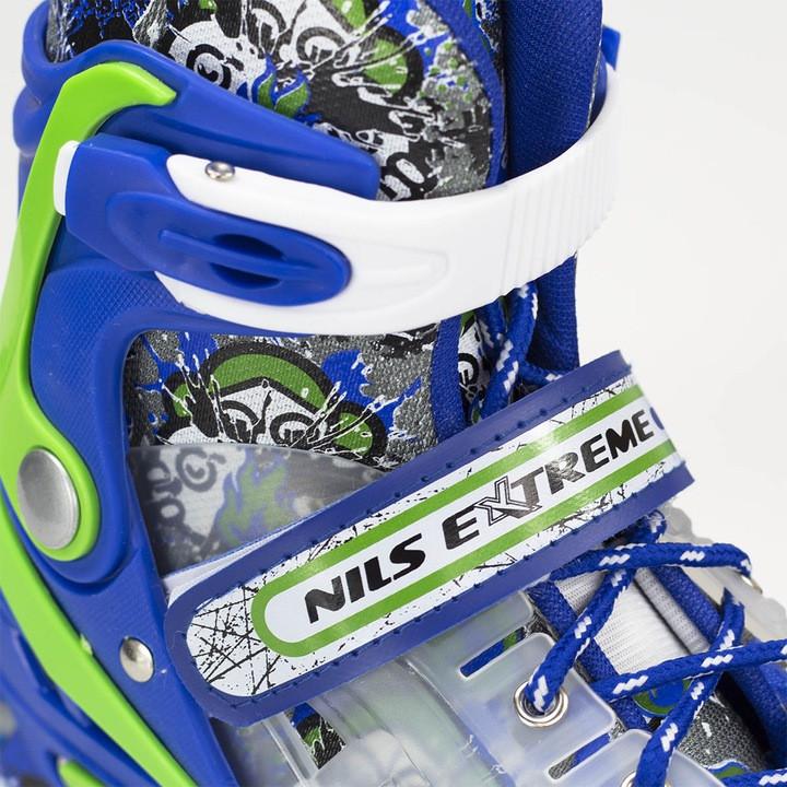 Роликовые коньки MIQI SKY набор (синие-размер 39-43) L - фото 7