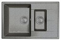 Кухонная мойка DR.Gans Smart Оливия 740К  Черный