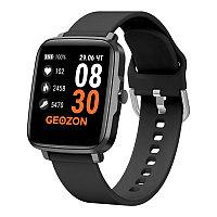 Фитнес часы GEOZON STAYER с функцией термометра, черный, , 36812