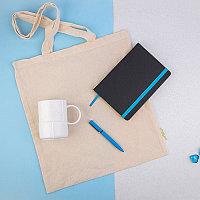 Набор подарочный EXTRAORDINARY: сумка, кружка, ручка B1, ежедневник недатированный Enote, голубой, Бежевый, -,