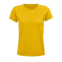 Футболка женская CRUSADER WOMEN 150 из органического хлопка, Желтый, S, 703581.301 S