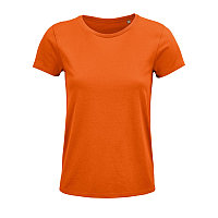 Футболка женская CRUSADER WOMEN 150 из органического хлопка, Оранжевый, S, 703581.400 S