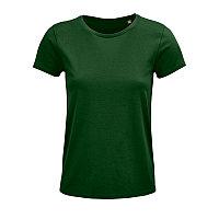 Футболка женская CRUSADER WOMEN 150 из органического хлопка, Зеленый, S, 703581.264 S