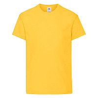 Футболка детская KIDS ORIGINAL T 145, Желтый, 116, 610190.34 116