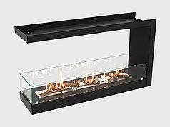Встроенный биокамин Lux Fire Торцевой 1155 М