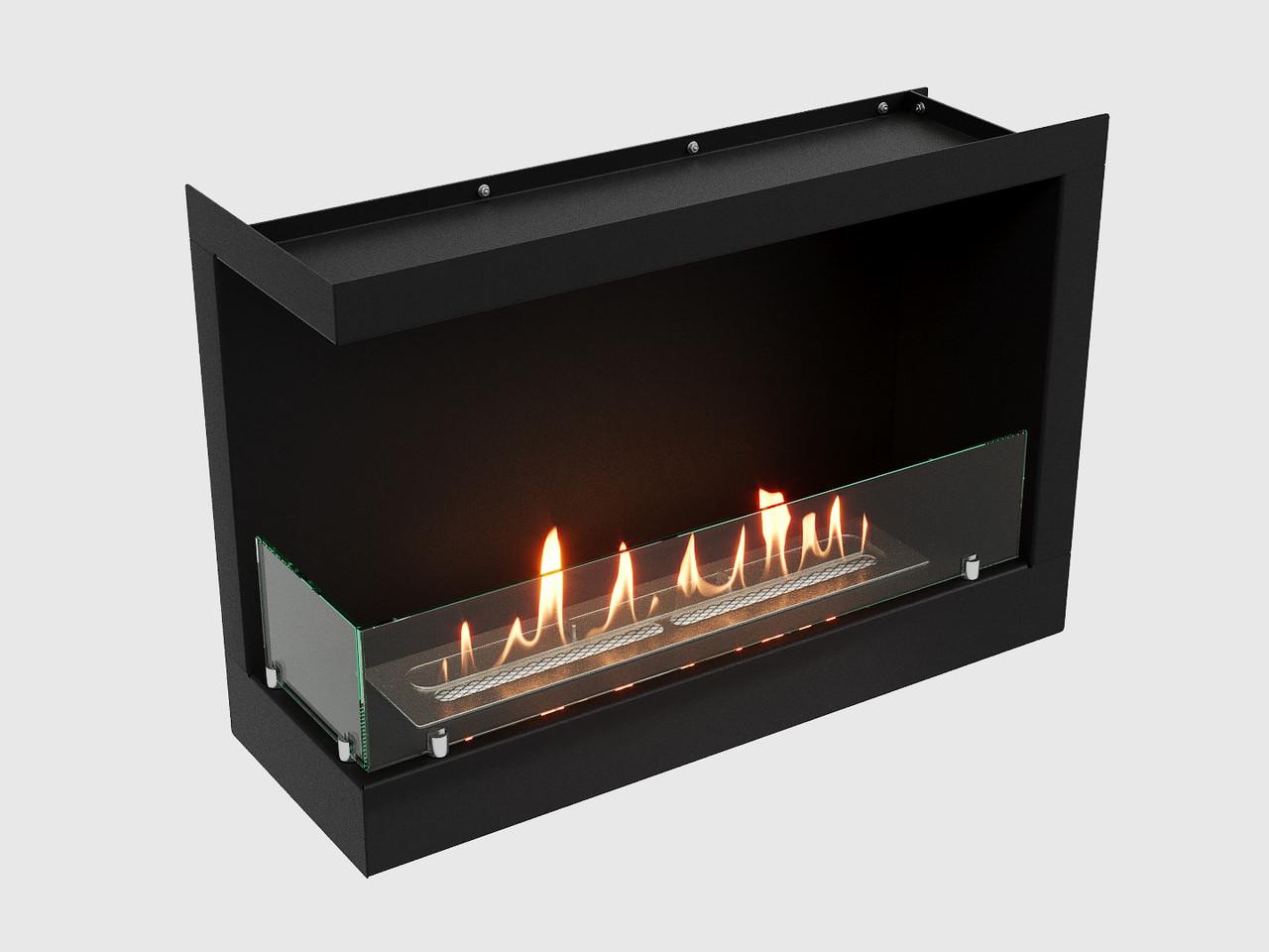 Встроенный биокамин Lux Fire Угловой 690 S (левый угол)